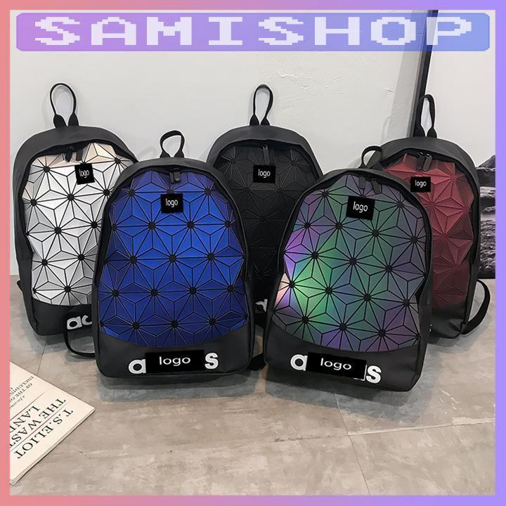 Balo nam nữ đẹp đi học và đi du lịch phản quang đựng laptop thời trang phong cách Hàn Quốc BL1884