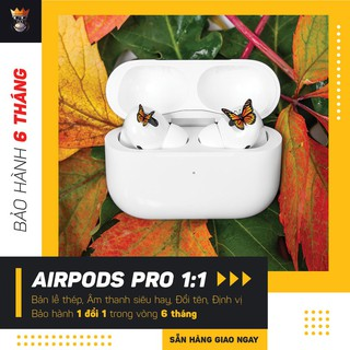 [AirPods Pro]Tai nghe Air Pods Pro Bluetooth 5.0 Cách âm Chống ồn – Đổi tên, Định vị, Sạc nhanh không dây