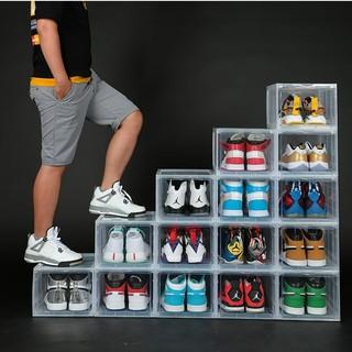 Combo 5 Hộp Đựng Giày Nhựa Cứng Cao Cấp, Size Lớn Cửa Nam Châm Lắp Ráp Thông Minh ( Tặng Gói Hút Ẩm )