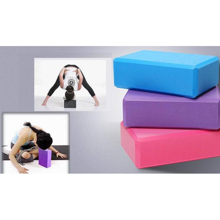 Gạch yoga trơn (màu cam)