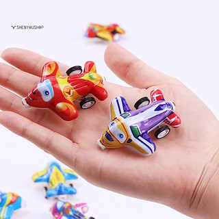 shenyoushop 5Pcs Pull Back Plane Little Simulation Model Playing Toy