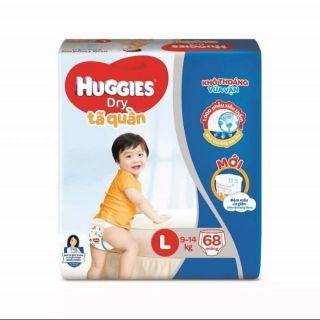 Tã quần Huggies L68/XL62/XXL56