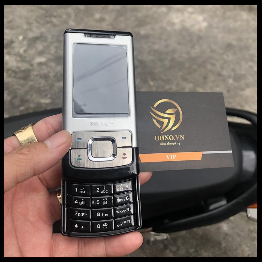 Điện Thoại Phổ Thông Giá Rẻ Nokia 6500 6500s Slide Nắp Trượt Điện Thoại Đập Đá Cho Người Già - OHNO Việt Nam