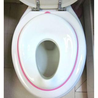 Lót bồn cầu viền cho bé, bệ thu nhỏ bồn cầu an toàn cho bé đi vệ sinh, bồ cho bé đi tè, đi vệ sinh tiện dụng thumbnail
