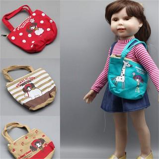 ❤❤Lovely Doll Bag Handbag Fit 18 Inch American Girl 1/3 BJD Baby Born Zapf Dol
