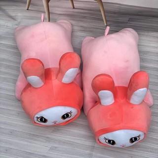 [Tặng vòng tay may mắn ] Gấu Bông Thỏ Cosplay Gối Ôm Thỏ Siêu Êm Mịn thumbnail
