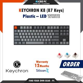 [ORDER] Bàn Phím Cơ Keychron K8 – Hàng chính hãng SiliconZ BH 12 Tháng