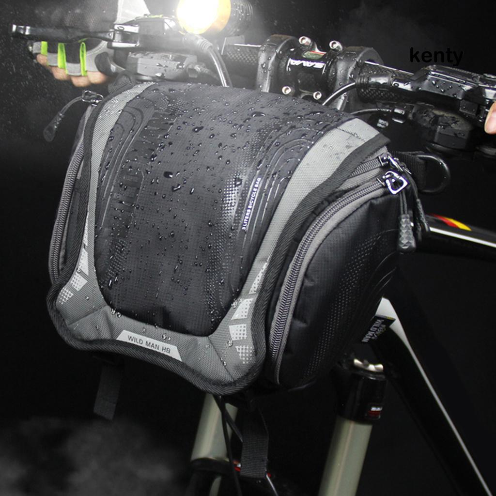 Túi Đựng Máy Ảnh Hành Trình Gắn Tay Lái Xe Đạp Cho Nam Man-H8