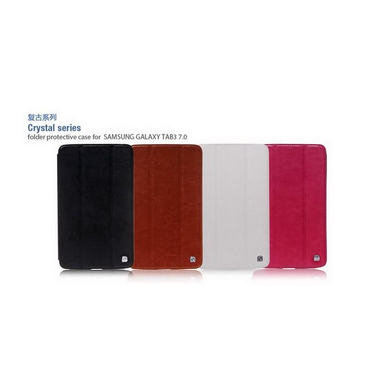 """Bao Da Samsung Galaxy Tab 3 7.0"""" T211 ( Hiệu Hoco, Crystal Series ) Chính hãng"""