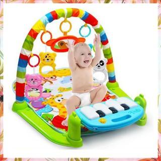 [Giá Rẻ Nhất] Giường Thảm nhạc piano cho bé