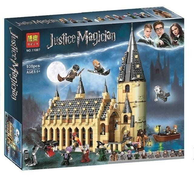 Lego Harry Potter : Sảnh Lớn Học Viện Hogwart Bella 11007 - 75954