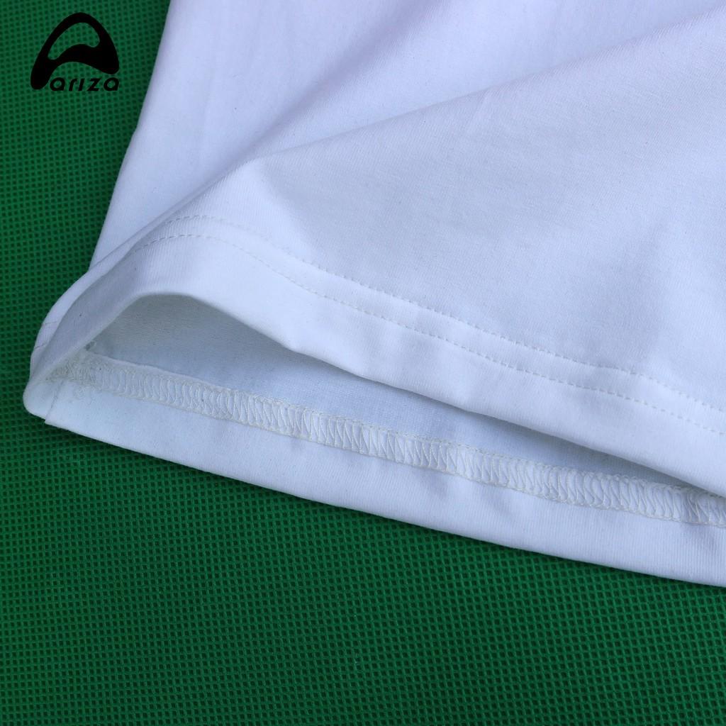 Hình ảnh Áo thun nam cộc tay Ariza chất vải cotton thấm hút mồ hôi tốt-7