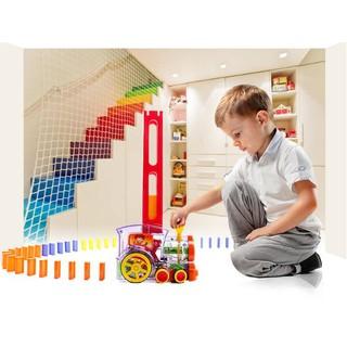[HOT] Tàu hỏa Domino – Đồ chơi thông minh cho bé – Toca Toys