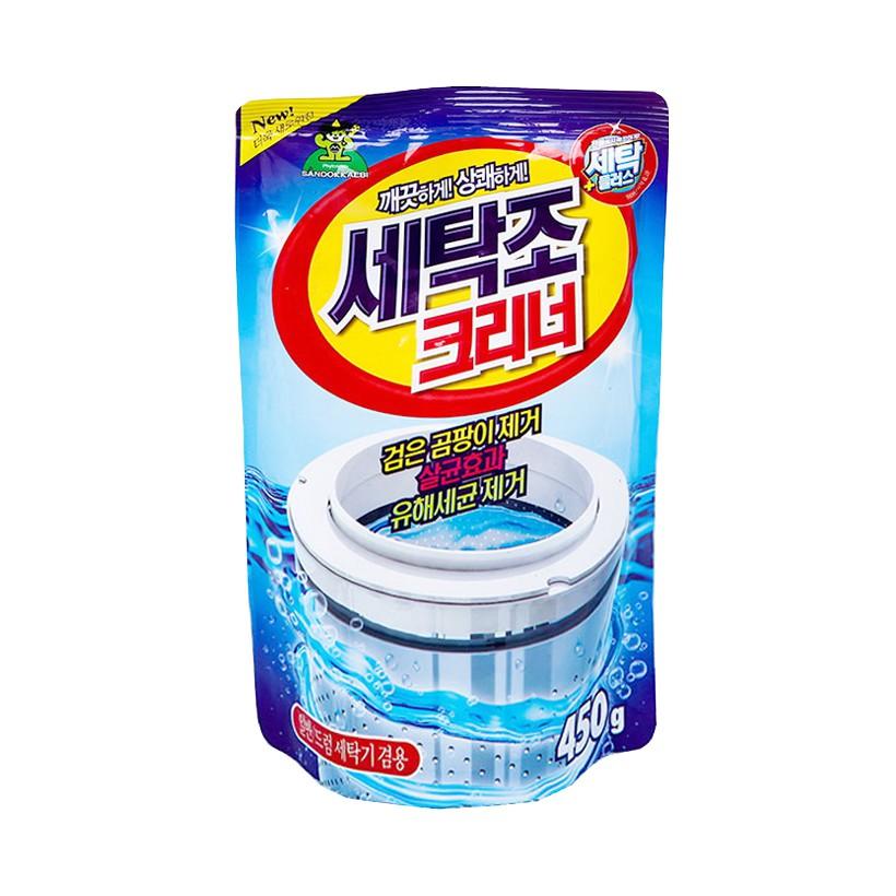 Bột tẩy vệ sinh lồng máy giặt 450g Korea - 22606664 , 857069424 , 322_857069424 , 35000 , Bot-tay-ve-sinh-long-may-giat-450g-Korea-322_857069424 , shopee.vn , Bột tẩy vệ sinh lồng máy giặt 450g Korea