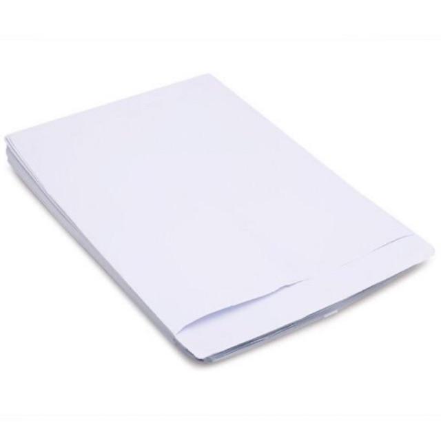 Bao thư trắng A4 (xấp 100 cái)