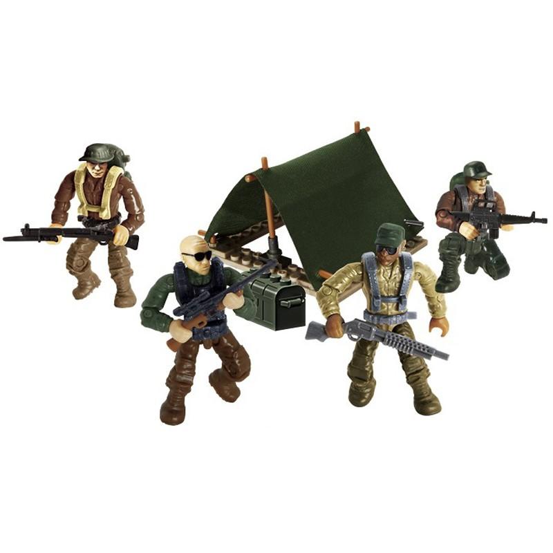 Bộ đồ chơi lắp ráp mô hình lính rừng nhiệt đới quân sự hiện đại Call of Duty MEGA BLOK...