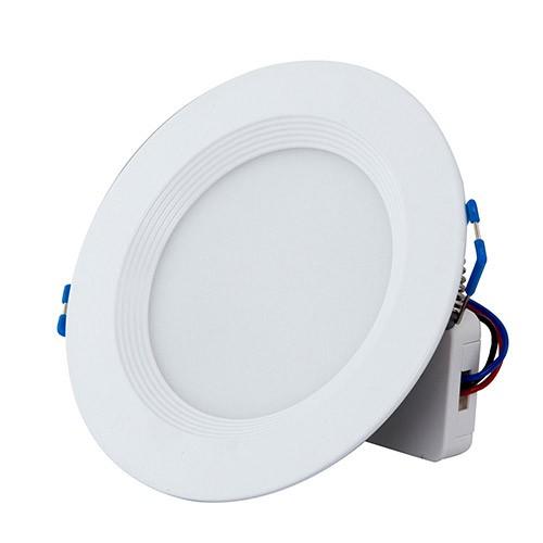 Đèn âm trần đổi màu 7W LED Rạng Đông, vỏ nhôm đúc, cánh tản nhiệt, khoét lỗ 90mm