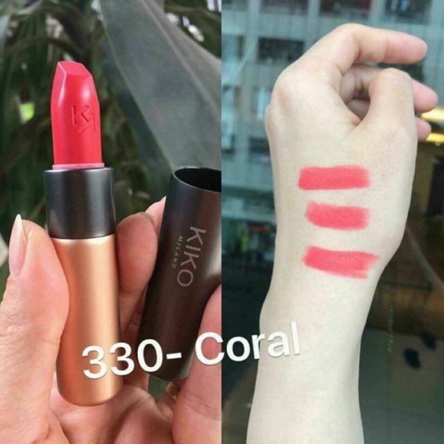 Son kiko velvet passion lipstick
