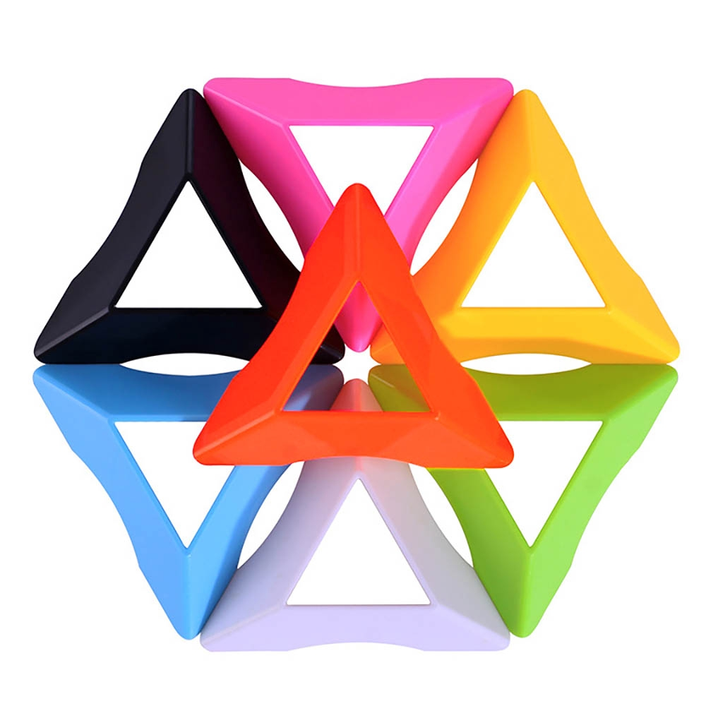 8 Colors Durable Lightweight Speed Magic Cube Base Holder Stand Kids Toys