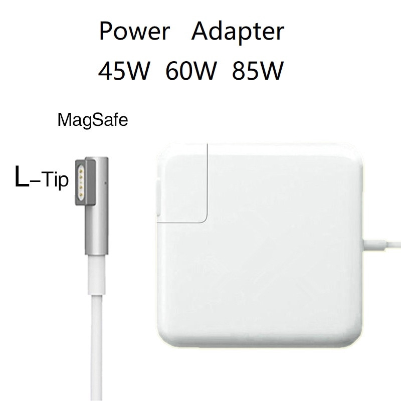 New 45W 60W 85W MagSafe1 LTip A1344 1278 A1369 Laptop Power Adapter Charger For Apple MacbooK Air Pro