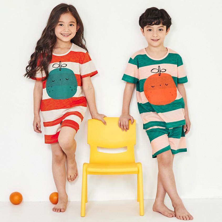 Bộ đồ mặc nhà trẻ em Unifriend Hàn Quốc cho bé trai, bé gái 1-10 tuổi