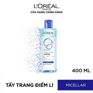 Hình ảnh Nước tẩy trang cho mọi loại da L'Oreal Paris 3-in-1 Micellar Water 400ml-2