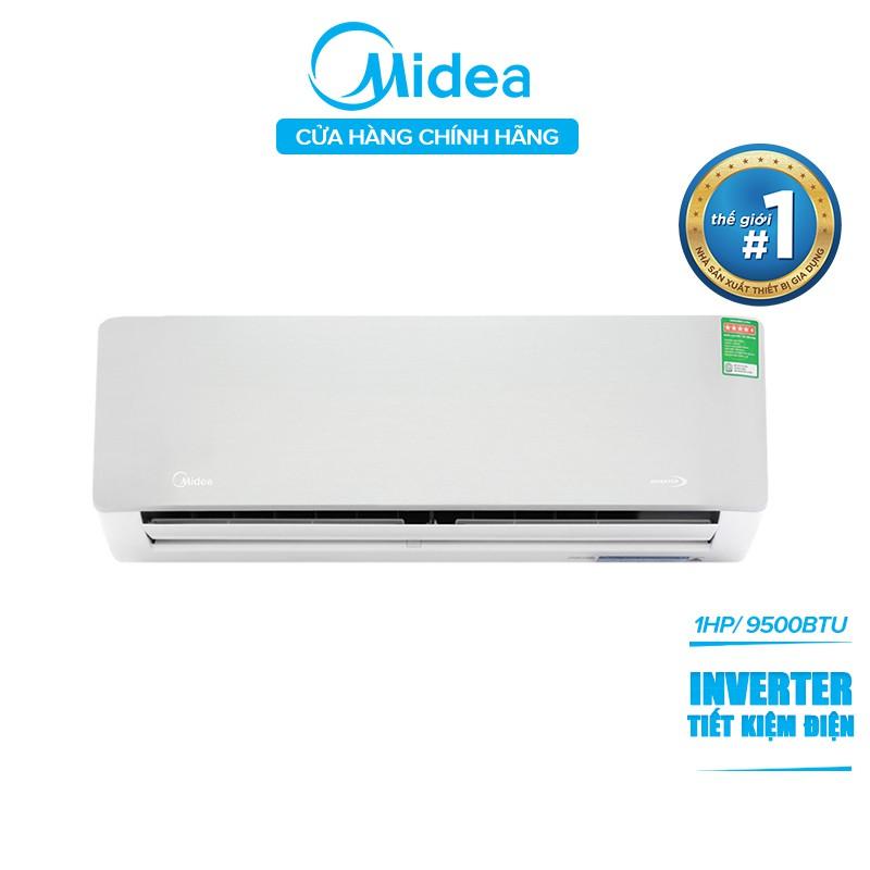 [Mã ELMALL1111 giảm 7% đơn từ 3 triệu -SỐ LƯỢNG GIỚI HẠN ] Máy Lạnh Inverter Midea AURORA MSAB-10CRDN8