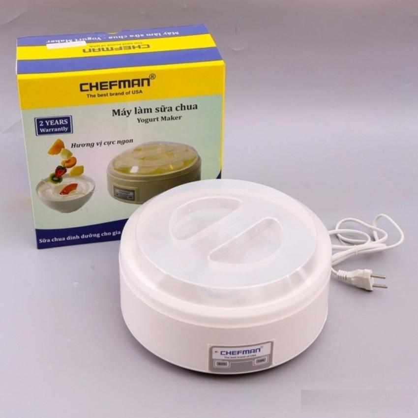 Máy làm sữa chua Chefman CM302N- -8 cốc nhựa - 9997767 , 381568007 , 322_381568007 , 109000 , May-lam-sua-chua-Chefman-CM302N-8-coc-nhua-322_381568007 , shopee.vn , Máy làm sữa chua Chefman CM302N- -8 cốc nhựa