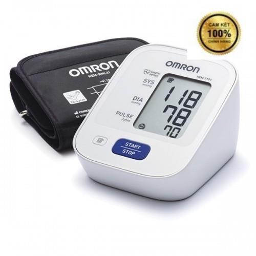 [HÀNG CHÍNH HÃNG]  Máy đo huyết áp bắp tay Omron HEM 7121