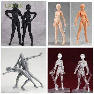 Box-packed Drawing PVC Collections Male&Female Figma Movable Body