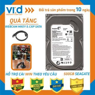 [ FREESHIP ] Ổ cứng HDD 500GB Seagate - Tặng cáp sata 3.0 - Hàng nhập khẩu tháo máy đồng bộ mới 98% - bảo hành 1T