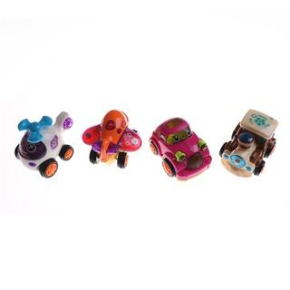 Inertia Cartoon Pull Back Car Toy Kids Baby Indoor Outdoor Play Toy