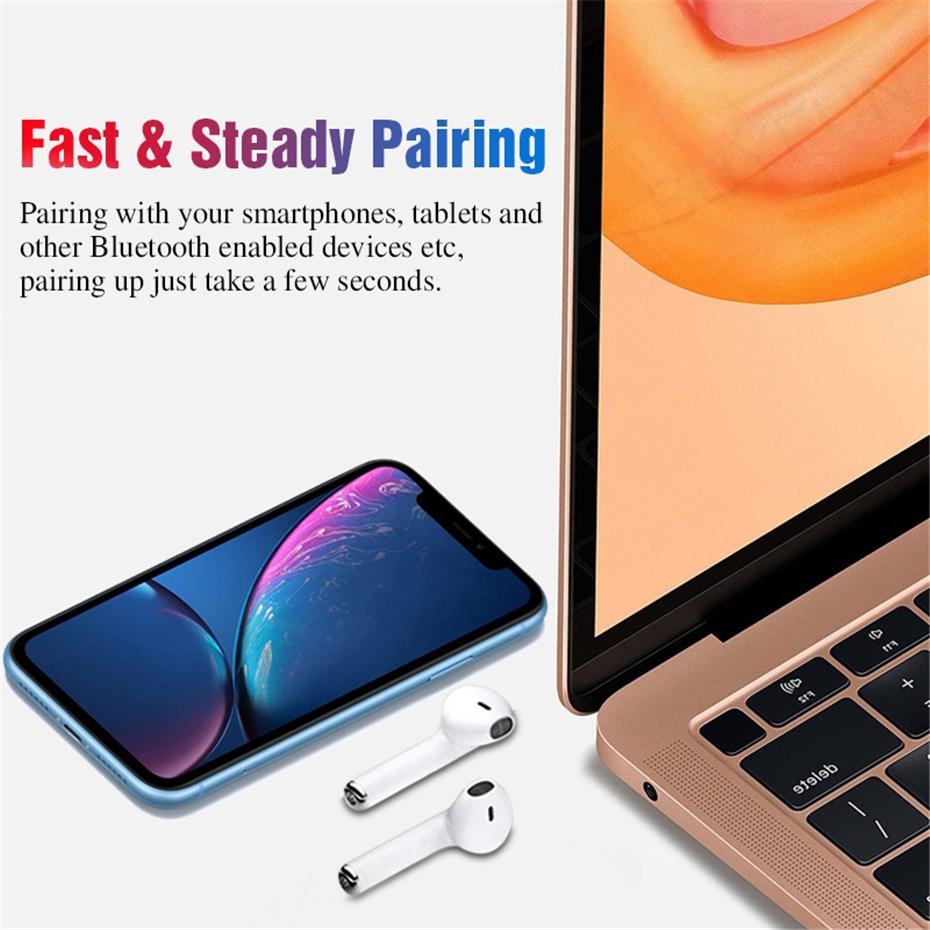 Tai nghe Bluetooth không dây i13 TWS với màn hình cảm ứng