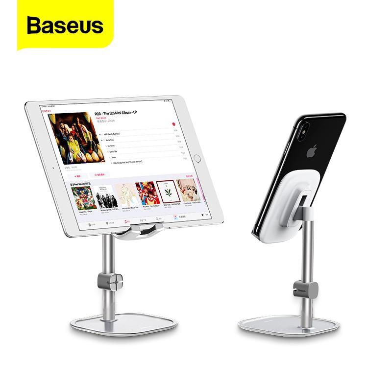 Giá Đỡ Điện Thoại Di Động/Máy Tính Bảng Baseus Cho iPhone iPad Air/Xiaomi Huawei Bằng Kim Loại