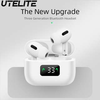 Tai Nghe Không Dây TWS UTELITE I58 Chính Hãng Bluetooth 5.0 Có Mic Âm Thanh Superbass Hifi Màn Hình LED Cho Android iOS