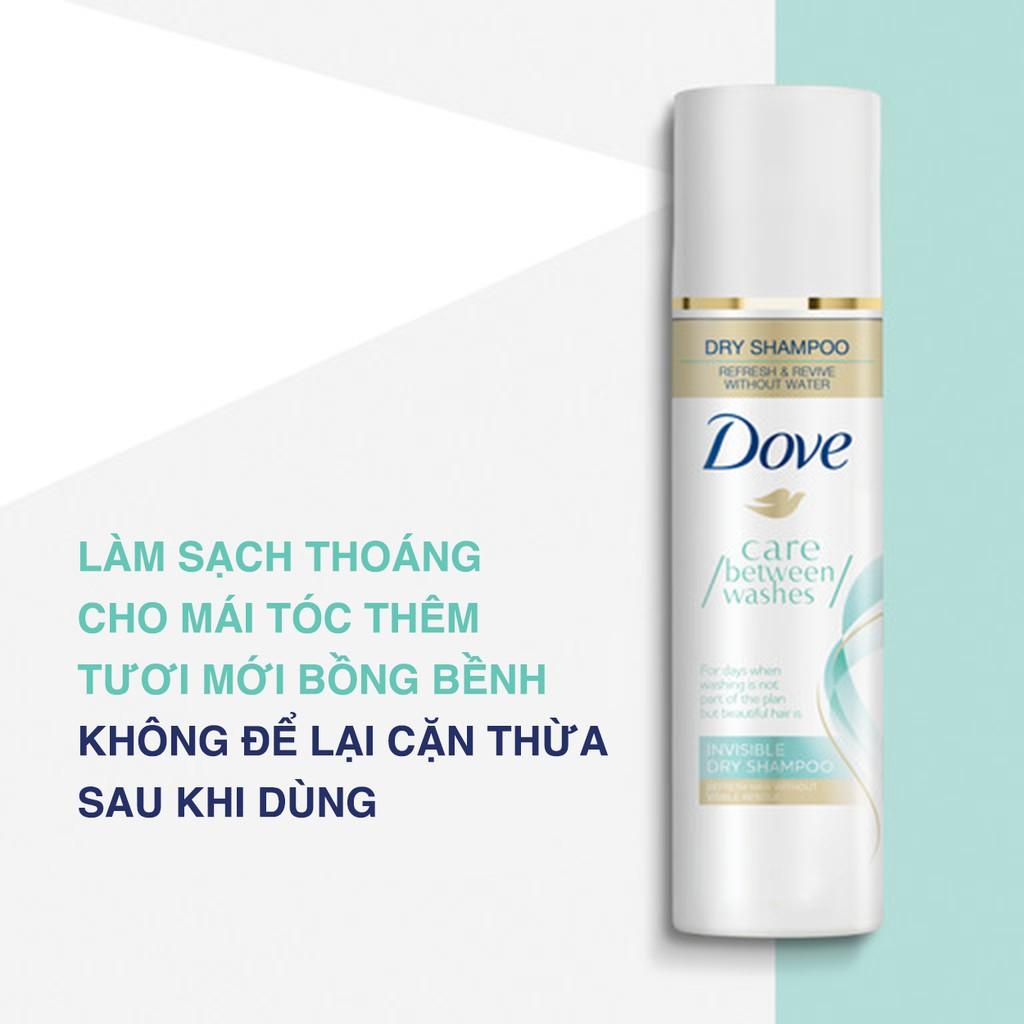 Dầu gội khô Dove sạch thoáng Dove Invisible Dry Shampoo 141g | Shopee Việt  Nam