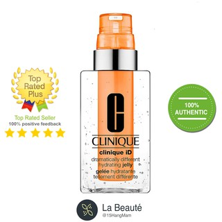Clinique ID Hydrating Jelly + Concentrate for Irritation Orange - Dưỡng Dạng Thạch Giúp Giảm Căng Thẳng Tr