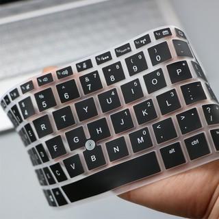 Miếng Dán Bàn Phím Silicon Mềm Siêu Mỏng Cho Laptop 14inch Hp Elitebook thumbnail