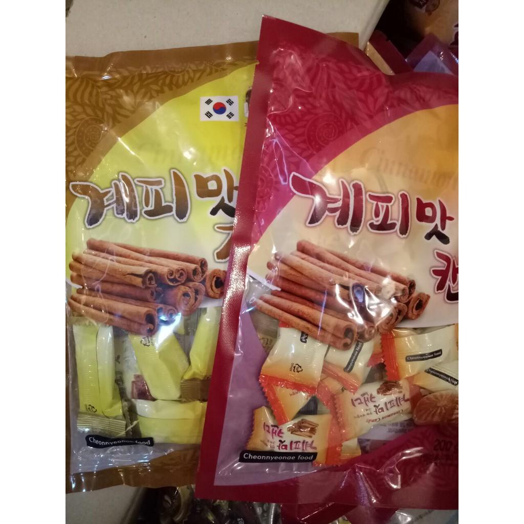 Combo 10 gói kẹo Quế Hàn Quốc 200g (cứng, mền) - 3457837 , 811793837 , 322_811793837 , 220000 , Combo-10-goi-keo-Que-Han-Quoc-200g-cung-men-322_811793837 , shopee.vn , Combo 10 gói kẹo Quế Hàn Quốc 200g (cứng, mền)