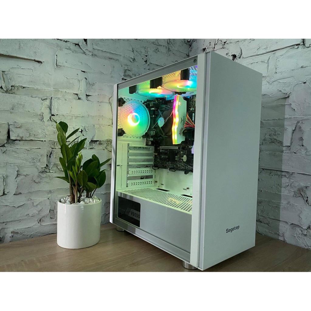 [Mã 267ELSALE hoàn 7% đơn 300K] Bộ Fan case G-Net F100 RGB - Quạt Tản Nhiệt Máy Tính