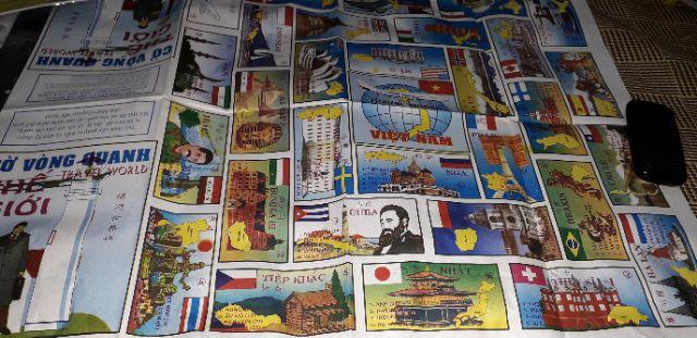 Set 5 bộ cờ gồm Cờ tỷ phú +Cờ vua + Cờ đua ngựa +Cờ bác học +Cờ Vòng quanh thế giới