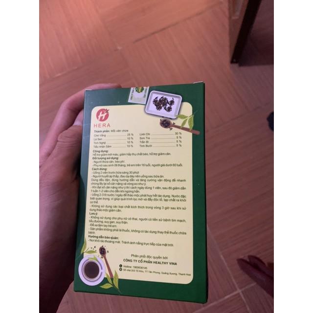 [Chính hãng] Thảo mộc giảm cân Hera Plus 30 viên