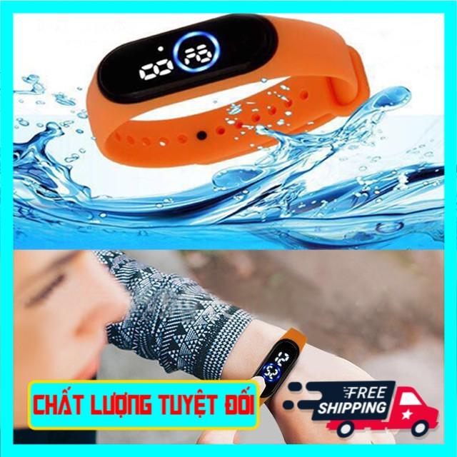 PC95  Đồng hồ unisex thể thao Ulzzang sport đèn led chống nước cực tốt mẫu mới hot