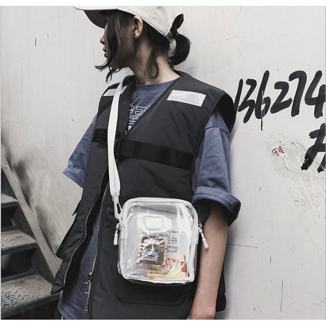 Túi đeo chéo trong suốt cá tính ( P5A11 )
