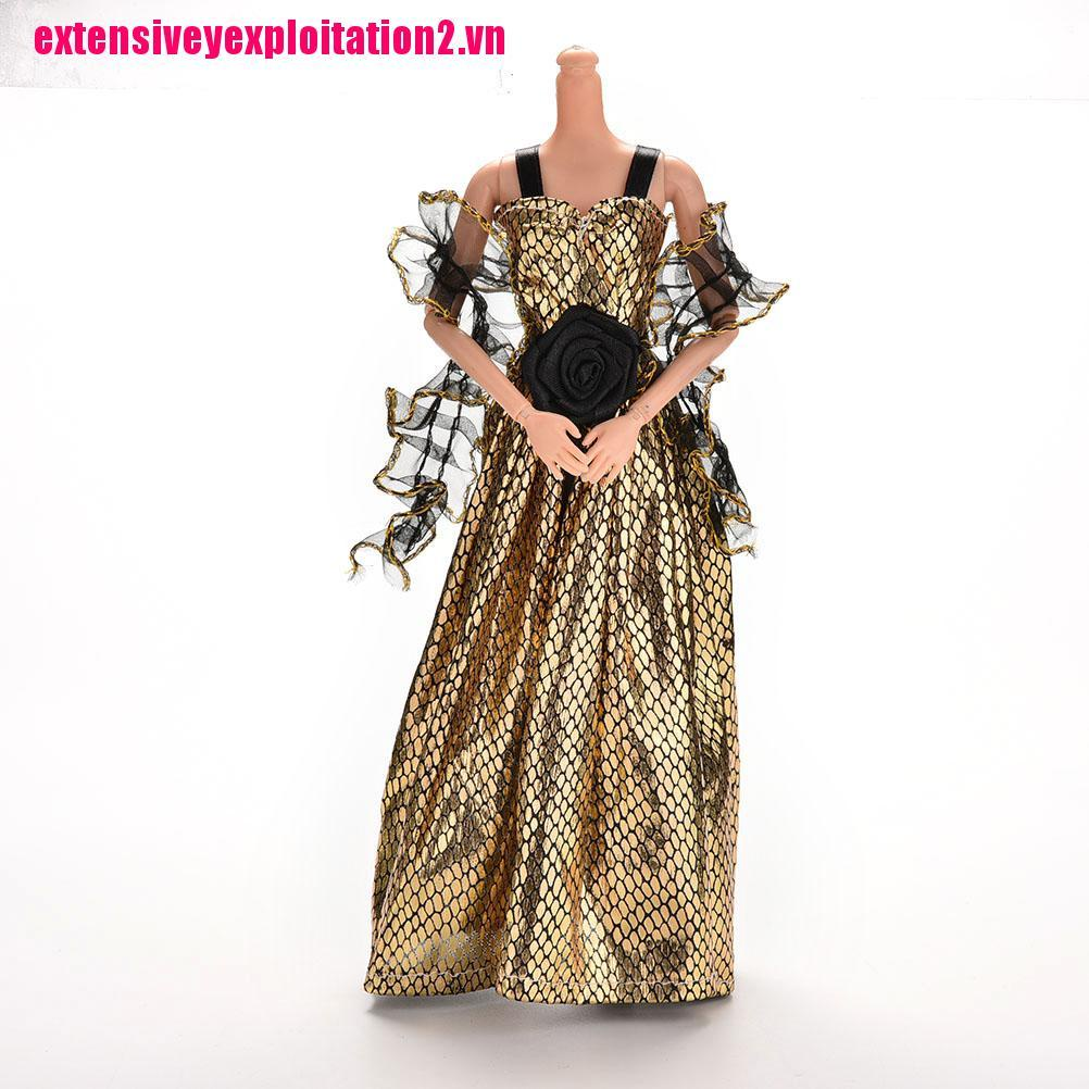 {extensivey2.vn}1 Pcs Crocodile Grain New Arrival Doll Clothes Set Dress for Barbie Doll with Shawl