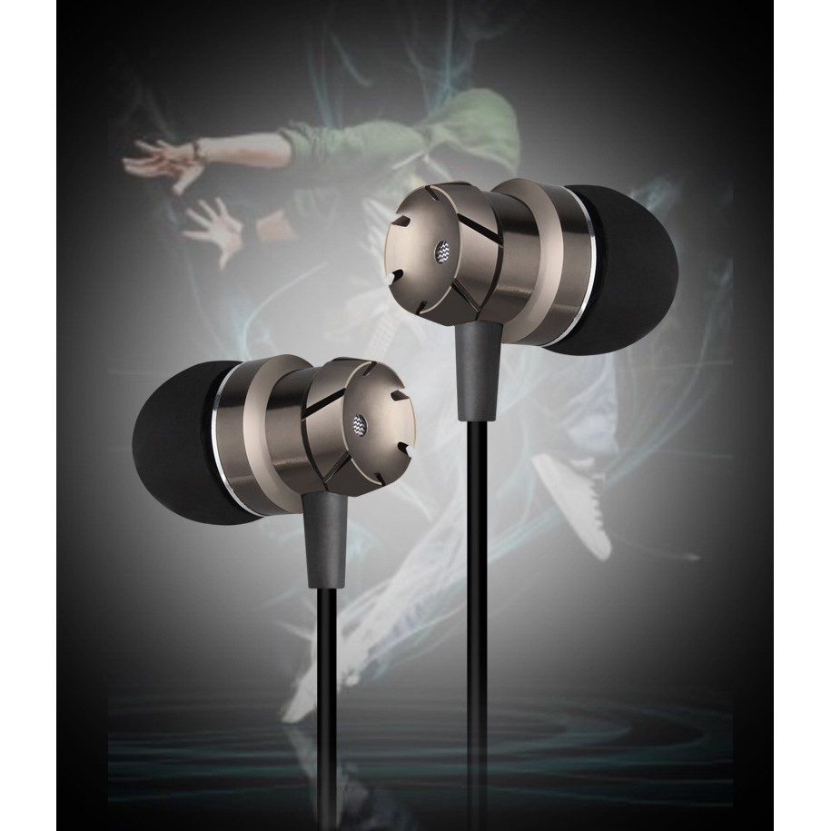 Tai nghe âm thanh stereo Vỏ kim loại cao cấp 2018