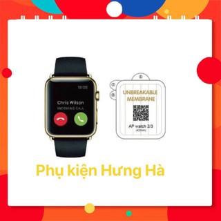 [Mã ELORDER5 giảm 10k đơn 20k] Miếng dán trong skin PPF tự phục hồi trầy xước cho Apple Watch size 38 40 42 44mm