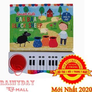 Đàn Piano Cho Em Bé, Trẻ Con Học Tiếng Anh Hiệu Quả Kết Hợp Âm Nhạc Và Ngôn Ngữ Với Sách Điện Tử Mini – BAA BLACK SHEEP