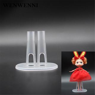 Doll Stand Display Show Leg Holder 2Pcs Plastic Durable For Dolls Amazing