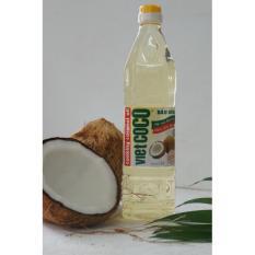 Dầu dừa nguyên chất tinh luyện Vietcoco chai 1L - 2526810 , 1243854884 , 322_1243854884 , 105000 , Dau-dua-nguyen-chat-tinh-luyen-Vietcoco-chai-1L-322_1243854884 , shopee.vn , Dầu dừa nguyên chất tinh luyện Vietcoco chai 1L